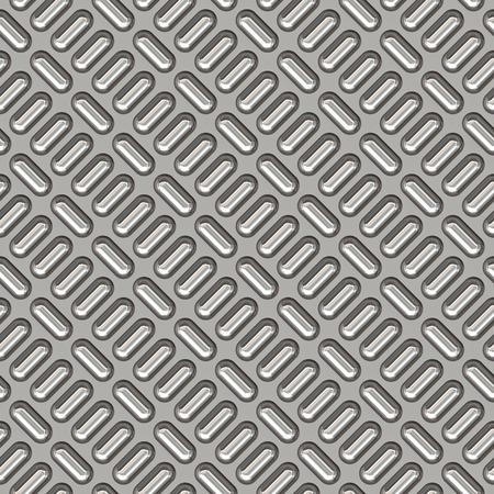 treadplate: a large sheet of nice shiny chrome tread plate