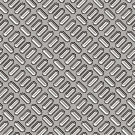 a large sheet of nice shiny chrome tread plate Stock Photo - 1365800