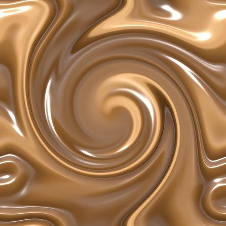 indulgere: un gran bel sfondo di latte e cioccolato fondente