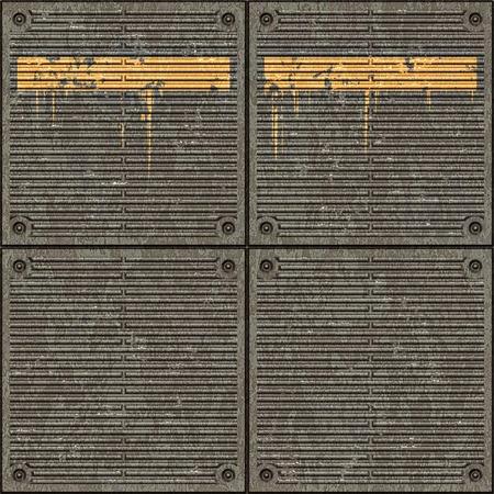plating: large image of treaded metal floor plate