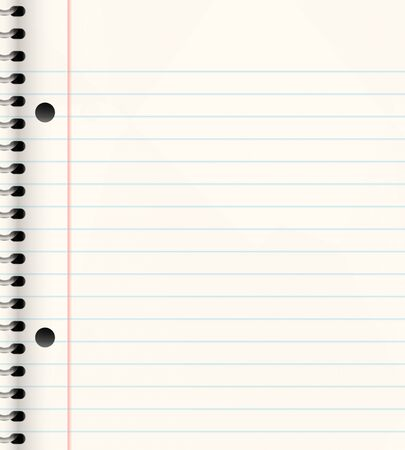 bind: nice image of a book of ruled or lined paper