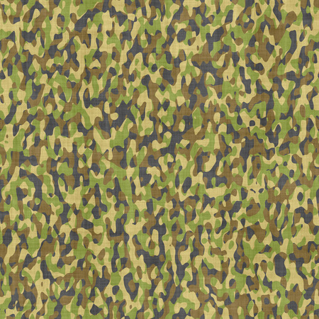 to conceal: large seamless image of cloth printed with military camouflage pattern Stock Photo