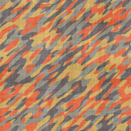disappear: large seamless image of cloth printed with military camouflage pattern Stock Photo