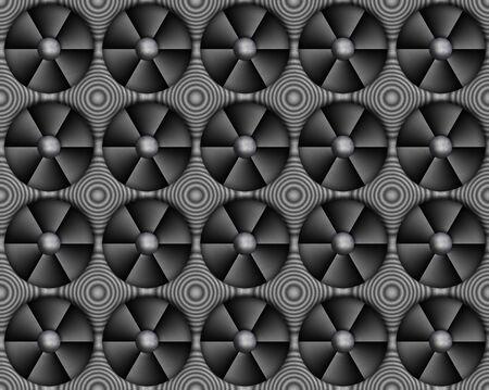background image of metal fans or ventilators