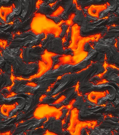 cracking: image of hot cracking lava or magma