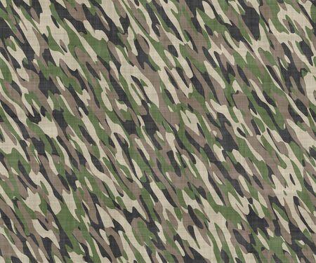 camouflage pattern: immagine di grandi dimensioni senza soluzione di stoffa con stampato camouflage modello militare