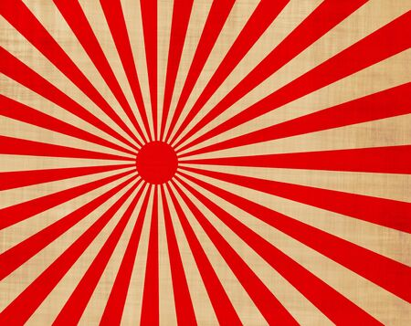 sol naciente: japansese rojo y blanco sol naciente