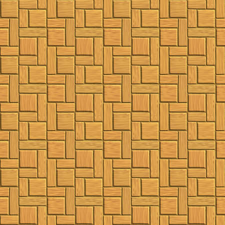 nice background image of wooden tile pattern  Stock Photo