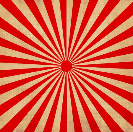 japanese flag: large red and white japansese rising sun