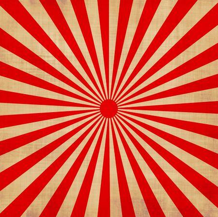kamikaze: large red and white japansese rising sun