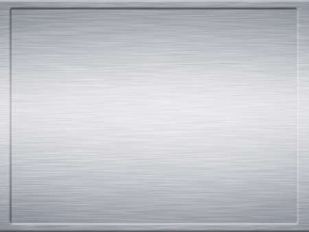 large framed sheet of brushed metal texture Stock Photo - 1583293