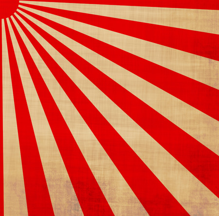 sol naciente: grandes de color rojo y blanco japansese sol