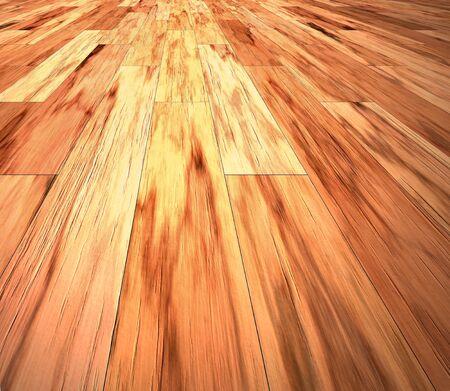 mahogany: image of mahogany floor boards going into the distance