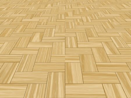 a large background image of parquetry floor Stock Photo