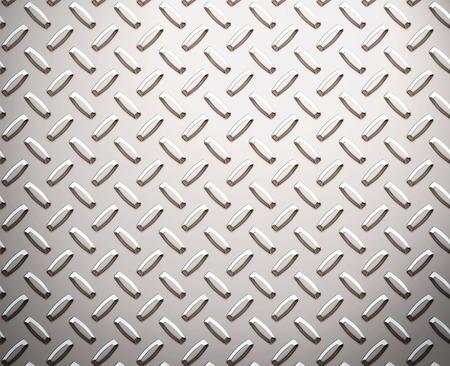 diamondplate: Senza soluzione di un grande foglio di alluminio o di nichel o di diamante battistrada piatto