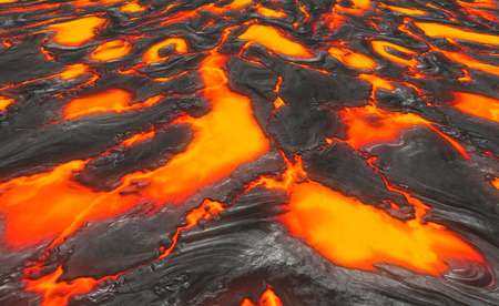 a large background image of molten lava Stock Photo - 1657793