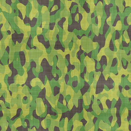 disappear: green and black camouflage material background Stock Photo
