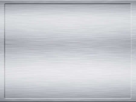 large framed sheet of brushed metal texture photo
