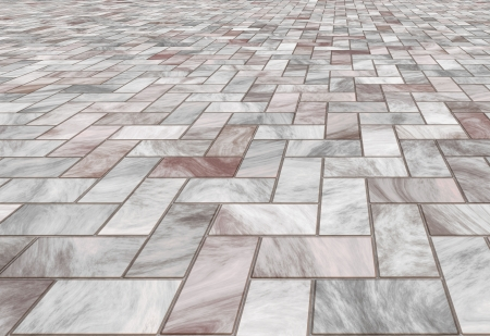 paved stone or marble tiles on the floor  photo
