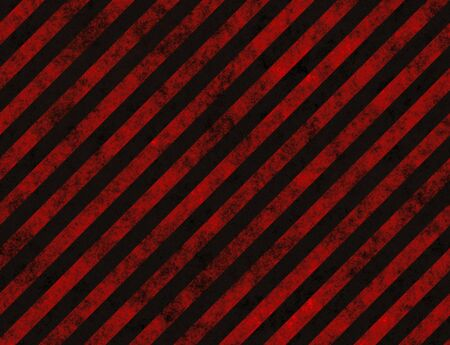 restricted: grungy red striped hazard background like on roads