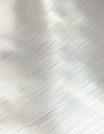 highly polished and reflective stainless steel background Stock Photo - 2167092