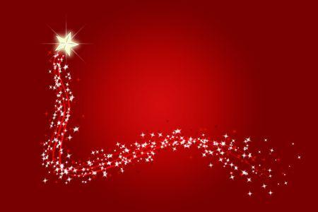deseo a una estrella fugaz en Navidad o en cualquier momento  Foto de archivo - 2196000