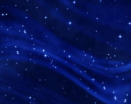 a nice blue star field of bright and shining stars
