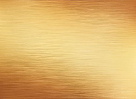 plaques: large sheet of brushed gold metal texture