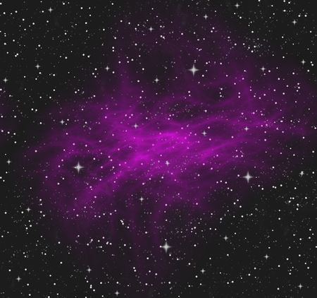 a nice large image of a cloudy nebula in space Stock Photo - 2349575