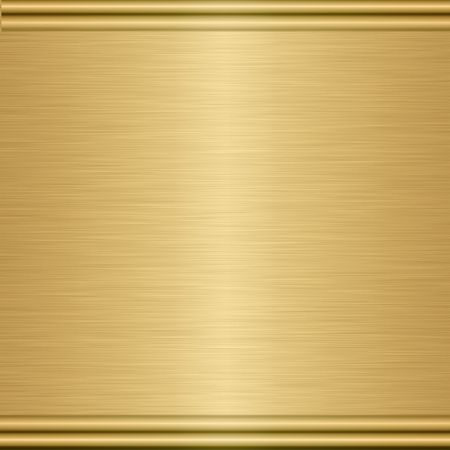 large sheet of brushed gold with turned edging