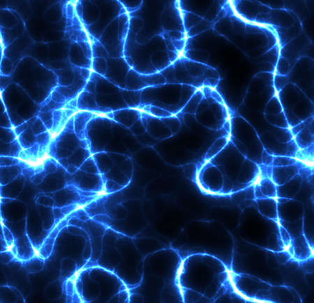 conducting: large abstract image of electricity or lightning