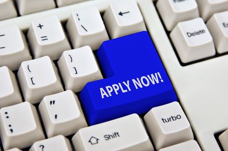 apply: online application enter key of keyboard is apply now