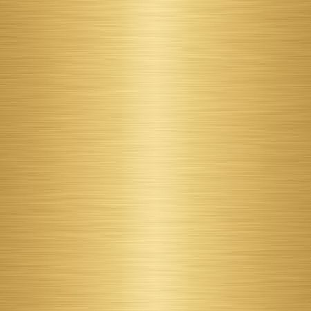 fabrication: enormous sheet of brushed gold metal texture Stock Photo