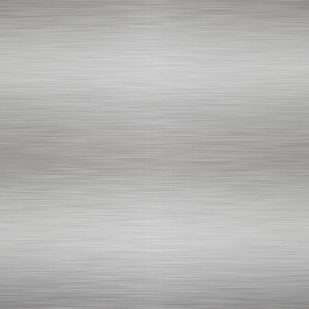 fabrication: large sheet of high contrast brushed steel Stock Photo