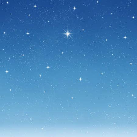 brightest: una sola stella brillante che desiderano si distingue da tutto il resto