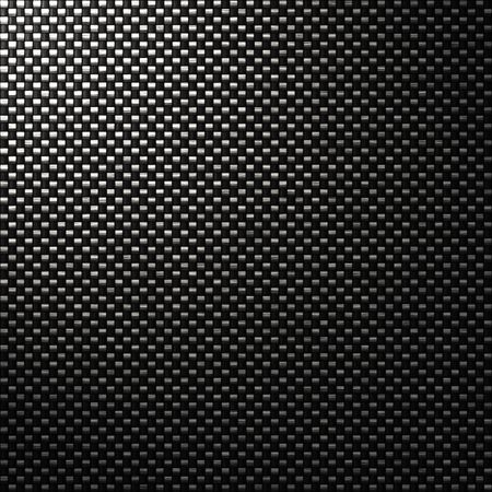 great black woven carbon fibre background texture Stock Photo - 2681032