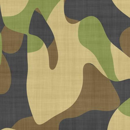 conceal: large macro closeup of camouflage material  Stock Photo