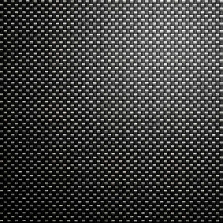 great black woven carbon fibre background texture Stock Photo - 2691736