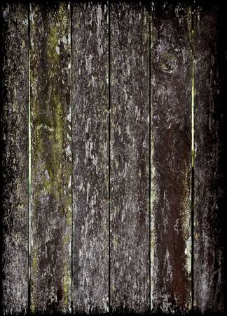 old grungy and dirty wooden fence slats Stock Photo - 2887288