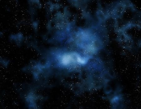 image of stars and nebula clouds in deep space Stock Photo - 2887275