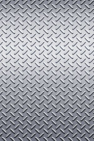 nickel: enormous sheet of diamond plate metal great for sign or bill boards