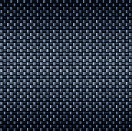 carbon fibre: detailed tightly woven carbon fibre background texture Stock Photo