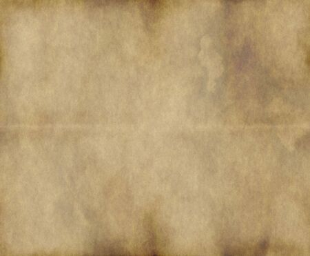textured paper background: large old paper or parchment background texture Stock Photo