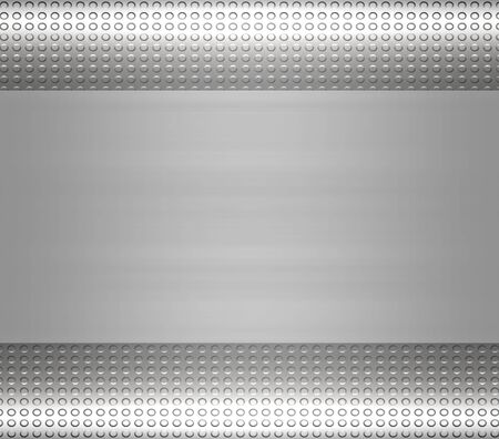 great large metal steel or aluminium plate background Stock Photo - 3228794