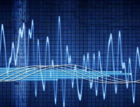 audiowave: abstract sound wave