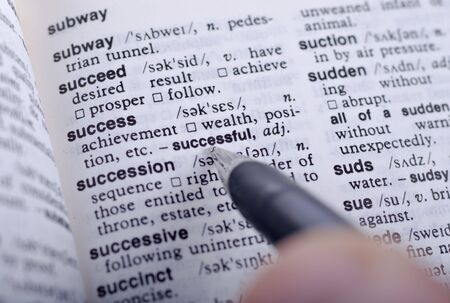 define: fountain pen points to the definition of success
