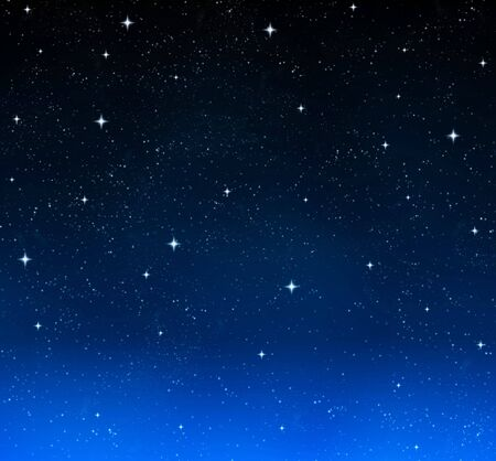 nice bright stars in the night sky Stock Photo - 3637181