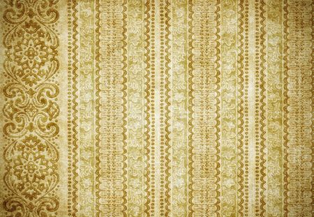 great retro background of some old dirty and grungy wallpaper Stock Photo - 3637203