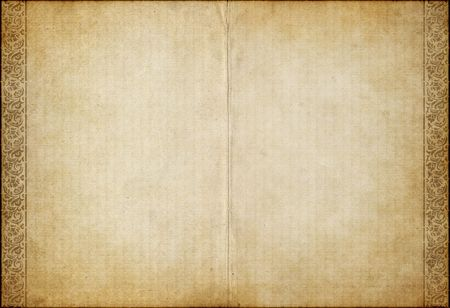 ancient book: great background image of old parchment paper