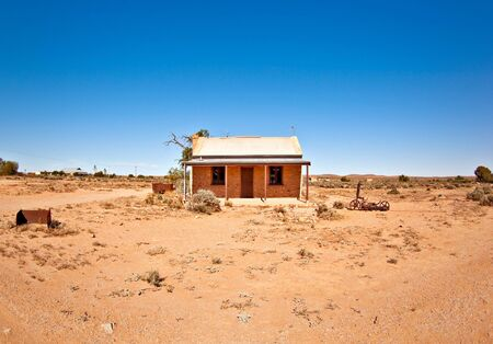great image of an old house in the desert Stock Photo - 3762119